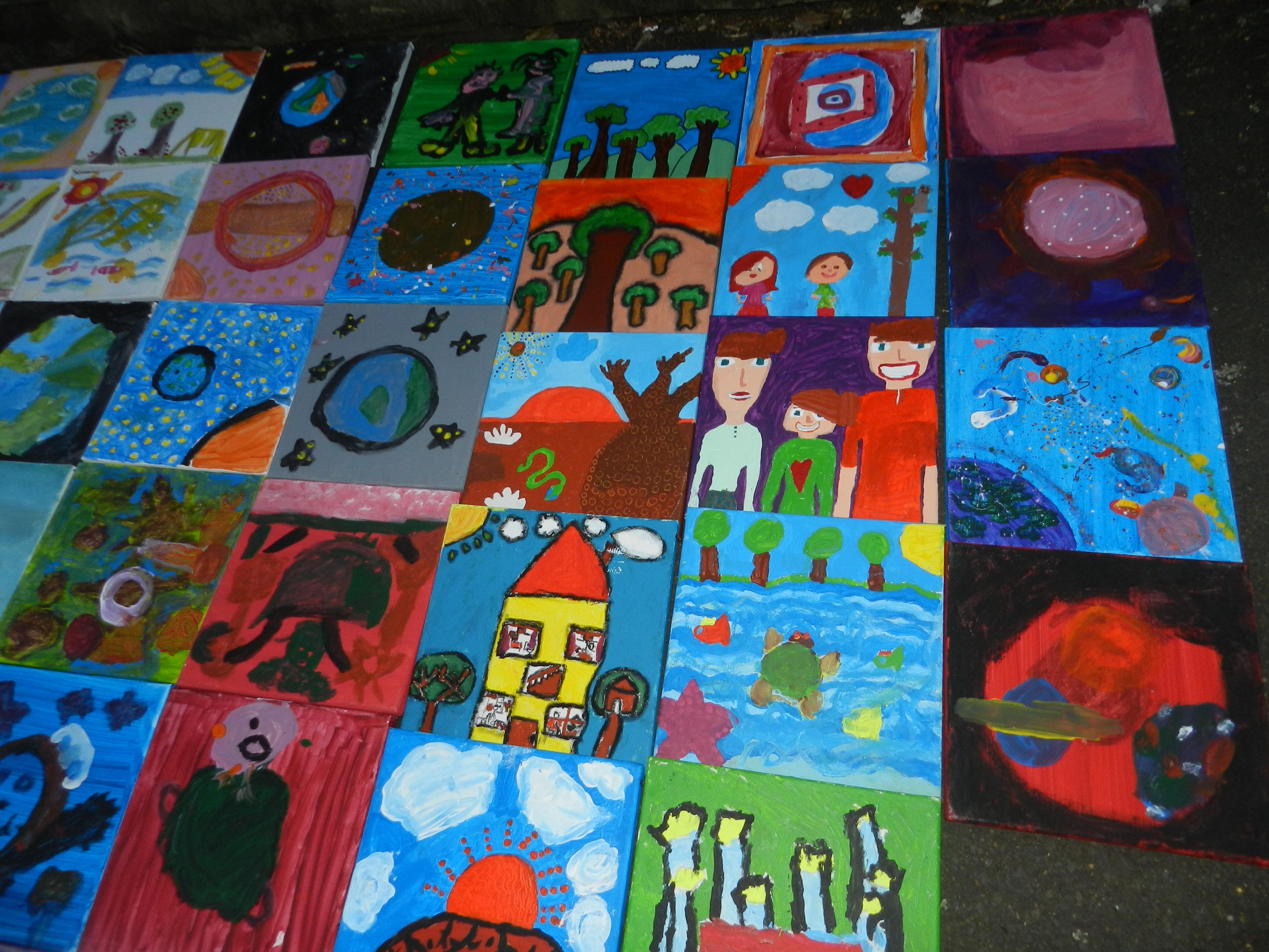 Sunday Kids Science Art Workshops $25.00 per kid per class in School term time